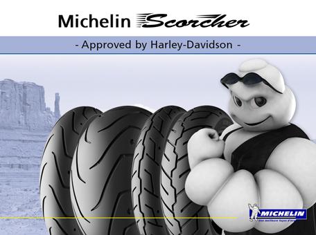 Harley Davidson Michelin Scorcher