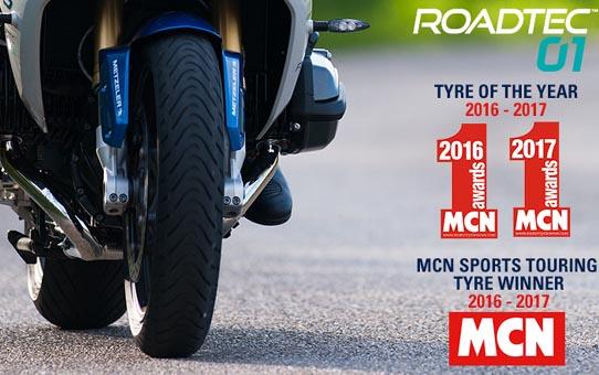 El Metzeler Roadtec01, neumático del año
