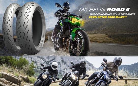 Michelin Road 5, novedad en el mercado de Sport