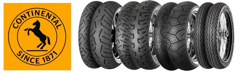 Comprar Neumáticos Continental Moto