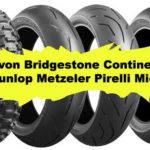 2020 Neumáticos motos