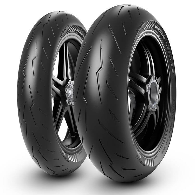 Neumático PIRELLI Diablo Rosso IV 2021